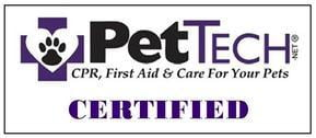 PetTech CPR and First Aid Certified