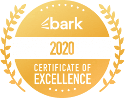 2020 BARK! Certificate of Excellence